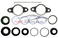 Power steering rack and pinion seal kit for Subaru Legacy.