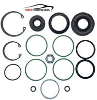Power steering rack and pinion seal kit for Saab 9-3